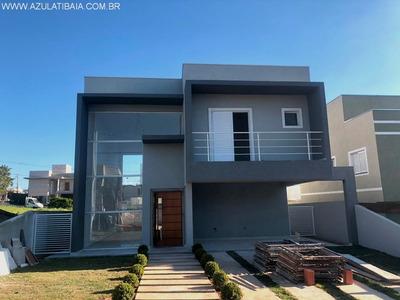 Sobrado Novo Em Atibaia, Condomínio, 3 Suítes Projeto Diferenciado. - Ca00413 - 34081719