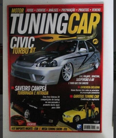 Revista Tuning Car - Honda Civic Saveiro Audi A4
