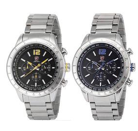2 Relógios Masculino Shark Anjo Pacific (original)