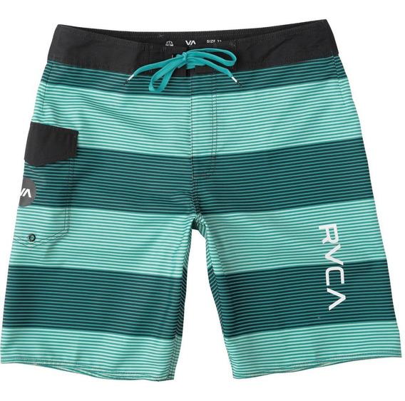 Boardshorts Rvca, Mod. Civil Stripe Trunk, Color Bal.