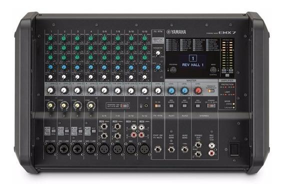 Mixer Yamaha Emx 7 Distribuidor Autorizado
