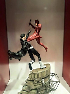 Sideshow Dare Devil Vs The Punisher Diorama