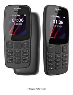 Celular Nokia 106, Nuevo, Sellado, Resistente, Radio Fm