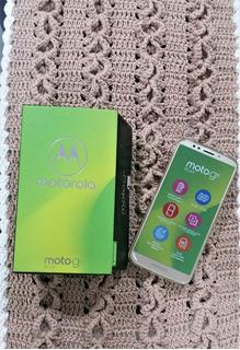 Moto G6 Play 32gb - Novo, Sem Uso, Original Com Nota