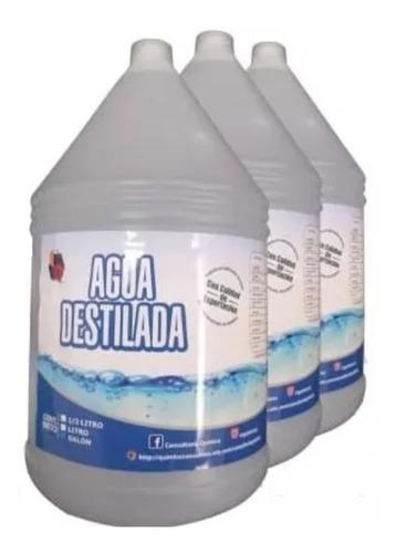 Agua Desmineralizada Baterías, Radiadores, Etc.
