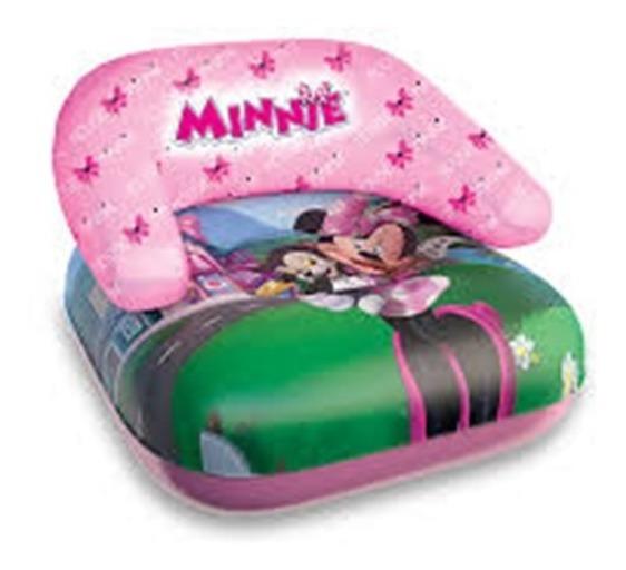 Poltrona Cadeira Boia Bote Inflavel De Bebe Criança Minnie