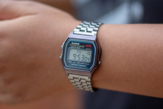 Relogio Digital Casio A158 Retrô Vintage