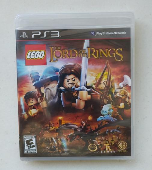 Jogo Lego Lord Of The Rings Ps3 - Mídia Física - Lacrado