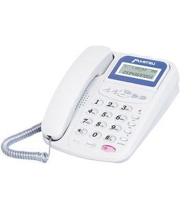 Teléfono Con Display Ajustable Blanco Mitzu 320