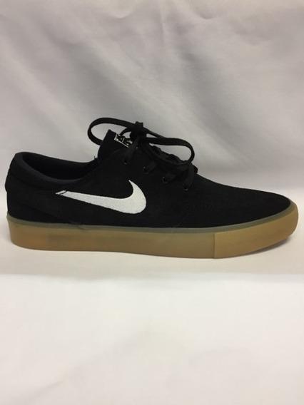 Tênis Nike Sb Janoski Zoom Air Black/gum Original