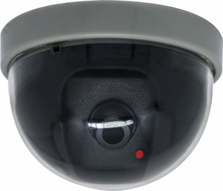 Dome Câmera Falsa Com Led P/ Segurança Bivolt Profissional