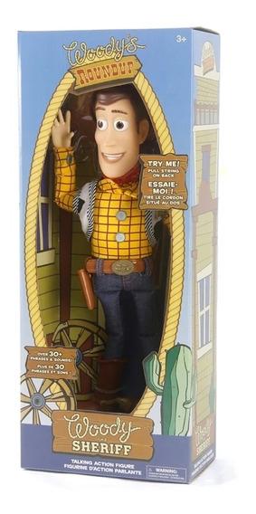 Woody Original + **brinde** (fala Em Inglês) Caixa Amassada.