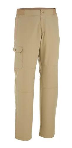 Pantalón Trekking Nh 100 Hombre  Gris