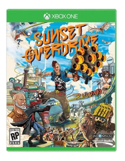 Game Sunset Overdrive Xbox One Midia Fisica Microsoft Envios