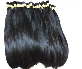Cabelo Humano Mega Hair Brasileiro Liso 60/65 - 100 Gramas