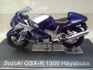 Miniatura Suzuki Gsxr 1300 Falta 1 Retrovisor 1:24 (8,5 Cm)