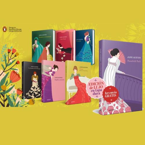 Imagen 1 de 7 de Libro Jane Austen La Nacion Tapa Dura Varios Titulos