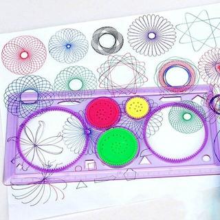 Espirografo Didactico Escolar Dibujar Espirales Divertido