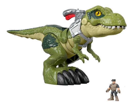 Imaginext Jurassic World, T-rex Mordida Feroz