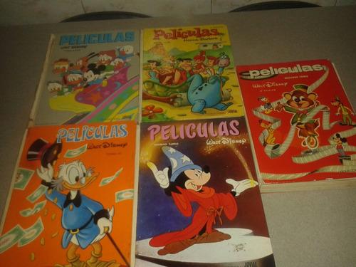 5 Libros De Películas Walt Disney/hanna Barbera