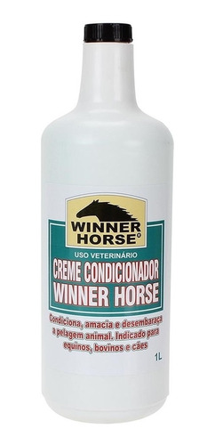 Imagem 1 de 1 de Creme Condicionador - Winner Horse 0927