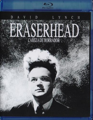 Imagen 1 de 3 de Eraserhead Cabeza De Borrador David Lynch Pelicula Blu-ray
