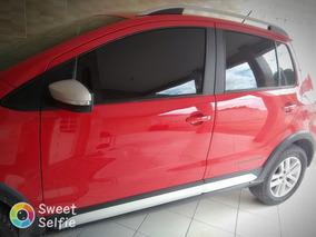 Volkswagen Crossfox Vermelho 1.6 , 6 Marchas E 5 Portas