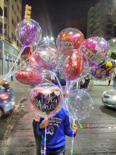 Globos Trasparentes Con Luces Led Tipo Burbuja