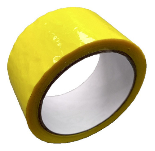E Cinta Amarilla Adhesiva