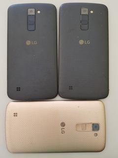 Lote Com 03 LG K10 K430 Com Display Quebrado