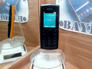 Nokia X1-00.1 Negro-naranja Iusacell