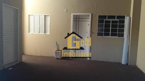 Casa Com 4 Dormitórios À Venda, 122 M² Por R$ 230.000,00 - Residencial Parque Dos Servidores - Ribeirão Preto/sp - Ca0566