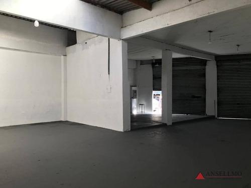 Imagem 1 de 19 de Salão Para Alugar, 151 M² Por R$ 6.000,00/mês - Baeta Neves - São Bernardo Do Campo/sp - Sl0018