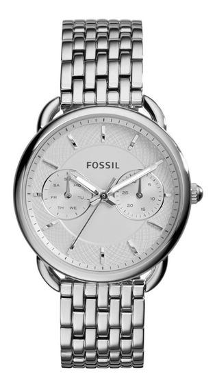 Relógio Fóssil Feminino Social Prateado Es3712/1bn