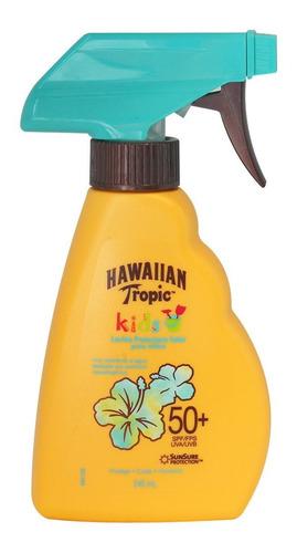 Loción Protectora Kids Hawaiian Tropic Fps 50+ 240 Ml
