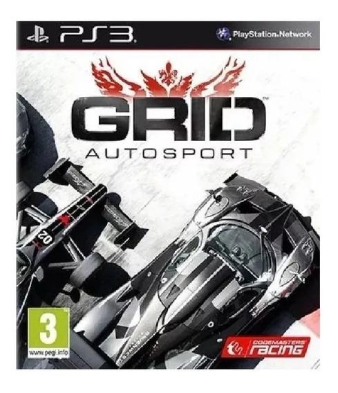 Grid Autosport Ps3 Dublado Br - Mídia Digital Envio Ja
