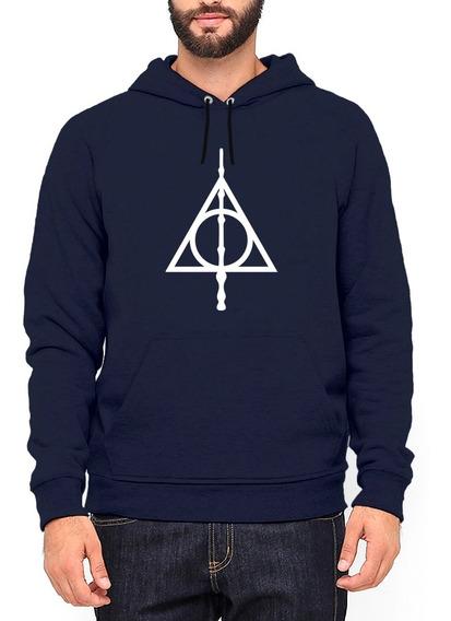 Moletom Harry Potter Relíquias Da Morte Canguru Blusa #14