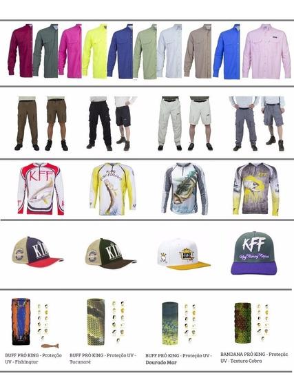 Kit King 2 Camiseta Sublimadas+ 2 Bandana