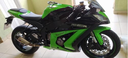 Kawasaki Ninja Zx10r-abs Ano 2012 Impecável