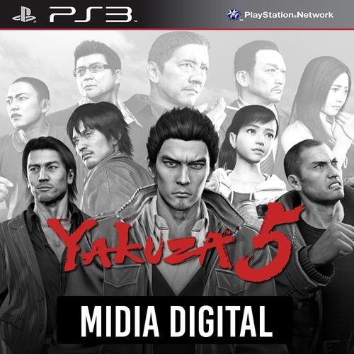 Yakuza 5 - Ps3 Psn*