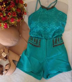 Blusa Perfect Way Verde Com Pedratam P