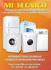 Reparacion Service Heladeras Lavarropas Estufas T 23360348