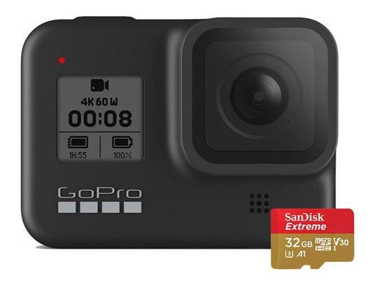 Kit Câmera Gopro Hero 8 Black - Chdrb-801