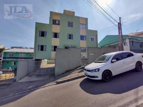 Apartamento Com 1 Dormitório À Venda, 40 M² Por R$ 90.000 - Campo Pequeno - Colombo/pr - Ap0413