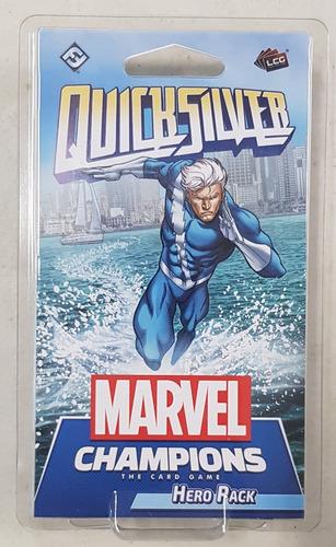 Marvel Champions Card Game Quicksilver Hero Pack Nuevo !!!