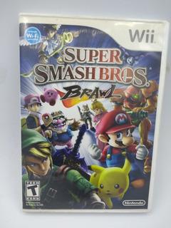 Super Smash Bros Brawl Wii En Gordito Coleccionables