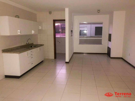 Apartamento Com 2 Dormitórios Para Alugar, 80 M² Por R$ 850,00/mês - Fortaleza - Blumenau/sc - Ap0292
