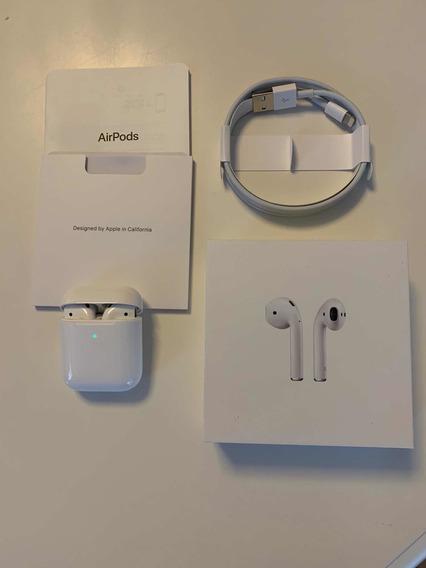 Airpod Fone Apple Com Estojo Carregamento Sem Fio
