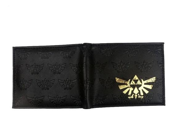 Billetera Cartera Trifuerzas The Legend Of Zelda Link