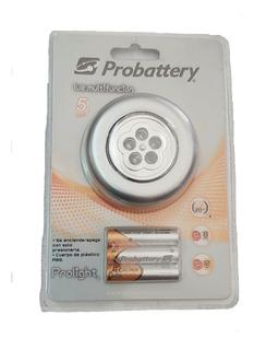 Luz Multifuncion Probattery 5 Leds Con Pilas Incluidas Aaa